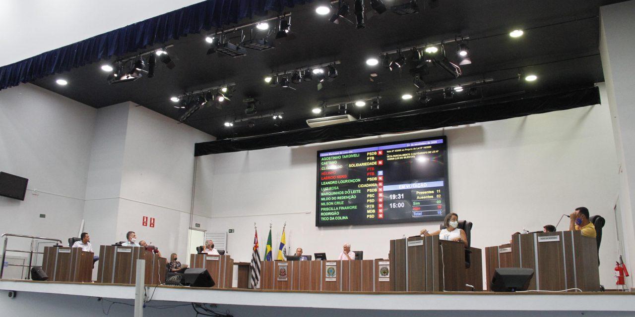 Vereadores rejeitam alteração do Regimento Interno