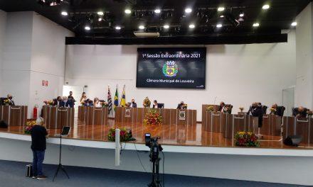 Câmara de Louveira vota novo presidente para biênio 2021-2022