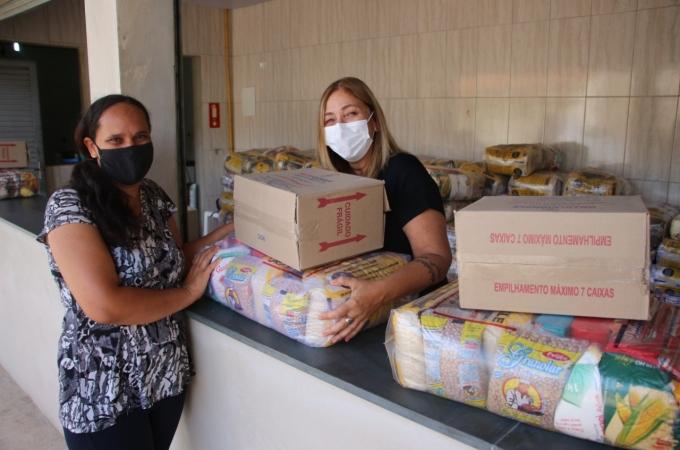 Louveira retoma nesta quarta (27) entrega de cestas básicas para famílias cadastradas