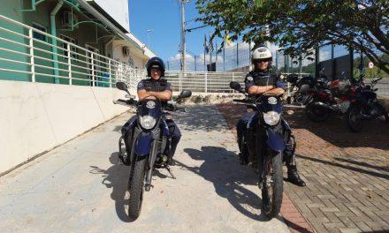 Ladrões de moto são identificados pela GM em Louveira. Um foi preso