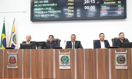 Vereadores escolhem Mesa Diretora de 2023 e Nilso será o presidente