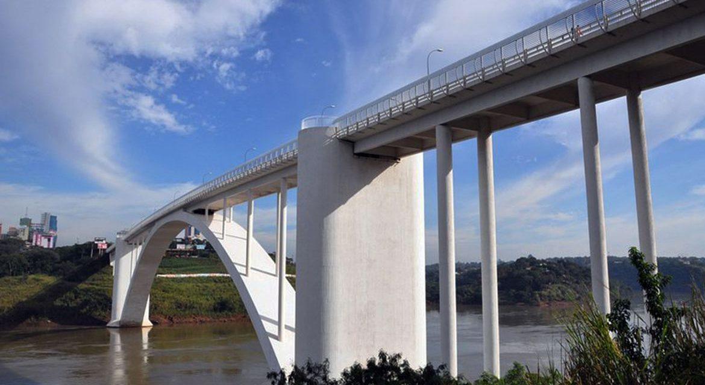 Ponte entre Brasil e Paraguai será reaberta hoje