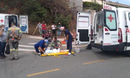 Acidente da Paulo Prado deixa mulher ferida