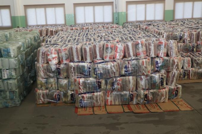 Entrega de cestas de alimentos é retomada nesta sexta (16)