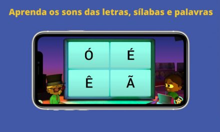 Jogo virtual ajuda na alfabetização de crianças