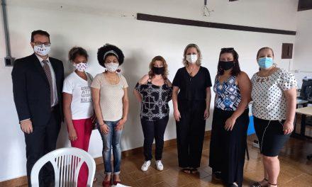 Educadoras de Louveira se reúnem com nova Secretária de Educação