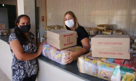 Mais de 4 mil família foram beneficiadas com cesta básica da Prefeitura