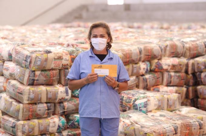 Louveira segue entrega de cestas de alimentos na segunda-feira (14) no CEIL/Centro e no Burck