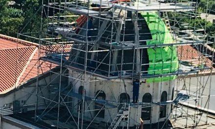 Restauração da Cúpula da Igreja São Sebastião: ainda é possível ajudar