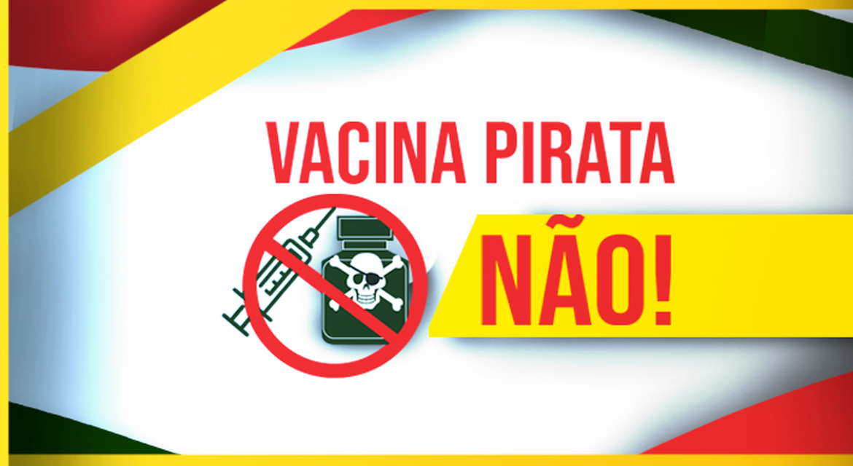 Vacina pirata: governo faz campanha de alerta