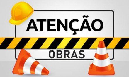 Trecho da Rua Silvério Finamore está interditado até às 12h desta terça-feira (23)