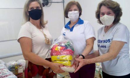 Fundo Social entrega para Vicentinos parte dos alimentos arrecadados durante campanha feita com a EPTV