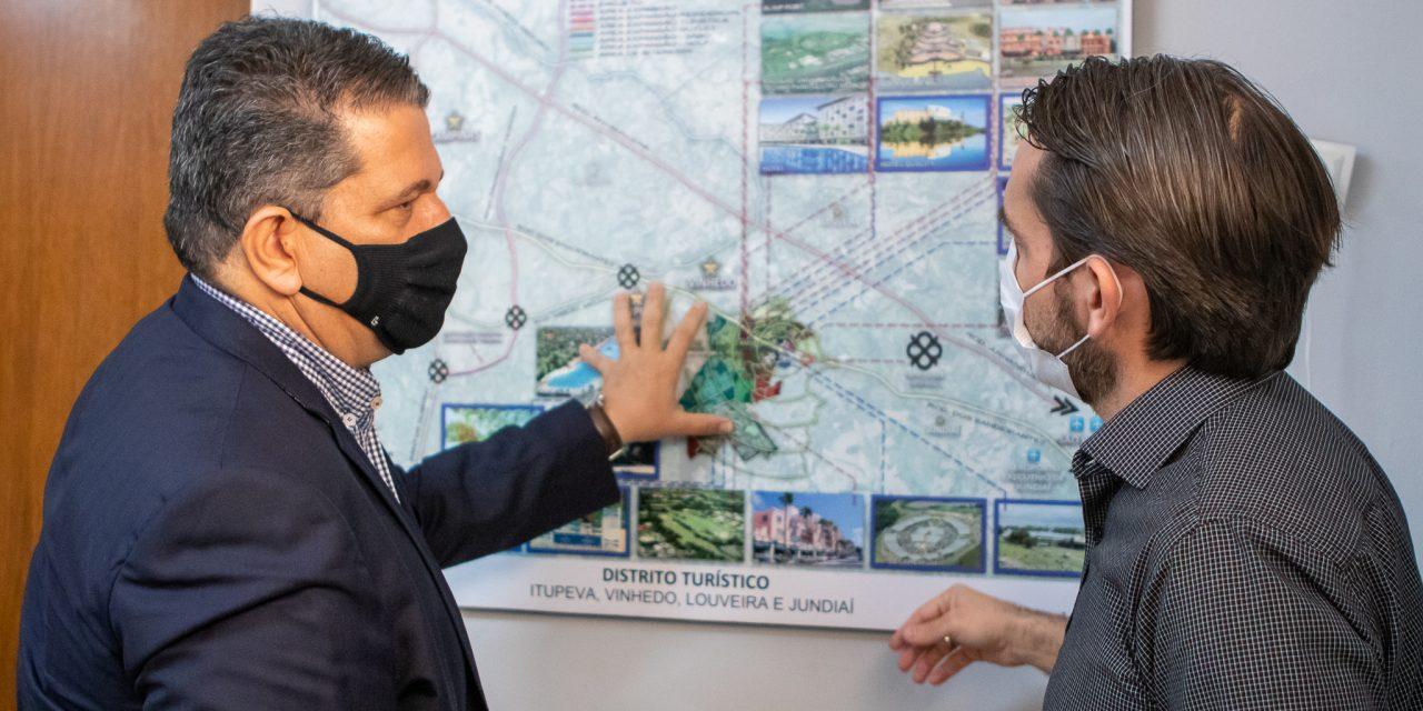Representantes de Louveira e Itupeva se unem para fomentar turismo regional