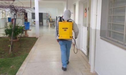 Ceil Centro, Hospital de Campanha e Santa Casa passam por sanitização