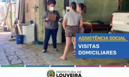 Prefeitura encerra nesta terça (20) série de 120 visitas a famílias atendidas pelo CRAS Santo Antônio