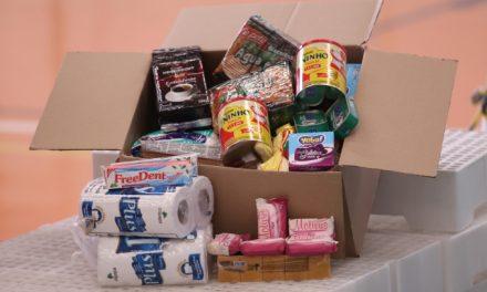 Entrega de cestas de alimentos será na quinta (08)