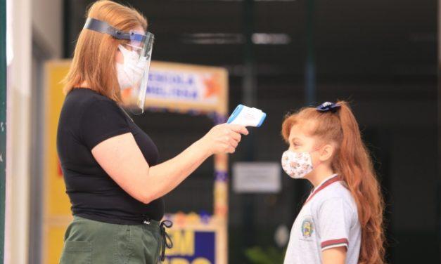VOLTA ÀS AULAS – Protocolos sanitários vão garantir segurança de alunos e profissionais de Educação nas escolas de Louveira