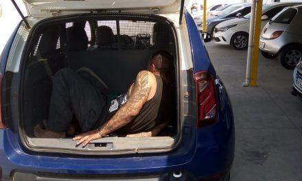 Furto no bairro Estiva: suspeito confessa vários delitos após ser pego pela GM
