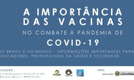 Gerente Geral da Anvisa fala sobre eficácia e efeitos colaterais de vacinas contra covid-19 disponíveis no Brasil