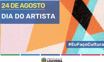 DIA DO ARTISTA – Em série de vídeos lançada nesta terça (24), projeto #EuFaçoCultura apresenta trabalho de artistas de Louveira
