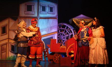 Peça de teatro 'O Gato de Botas' terá duas sessões gratuitas nesta quinta-feira (19) em Louveira