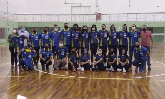 Louveira apresenta equipe profissional de vôlei feminino que vai jogar a Superliga Nacional C